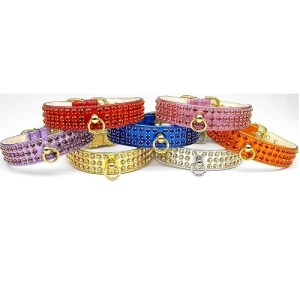 Metallic Manhattan Dog Collar | The Pet Boutique