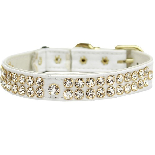 Swank Cat Safety Collar - White | The Pet Boutique