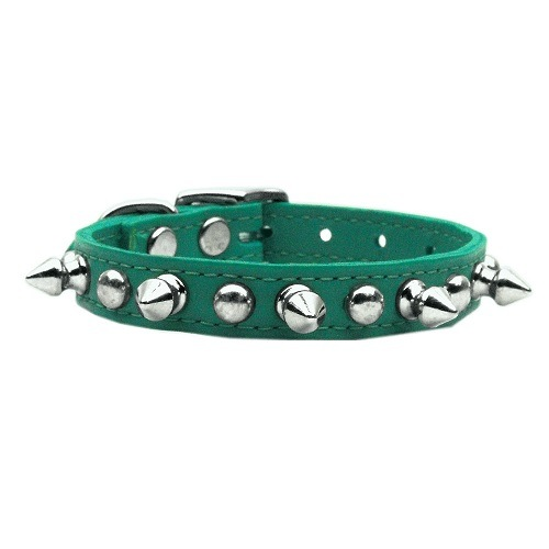 Chaser Leather Dog Collar - Jade | The Pet Boutique