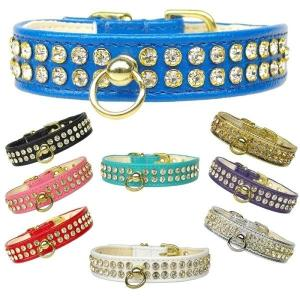 Clear Crystal #72 Dog Collar | The Pet Boutique