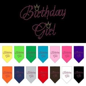 Birthday Girl Rhinestone Pet Bandana | The Pet Boutique