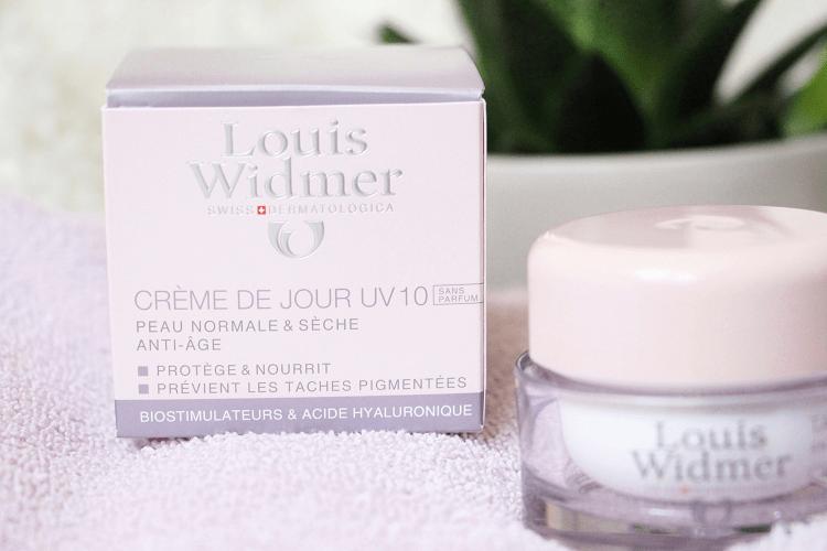 Packaging Louis Widmer - crème de jour UV10