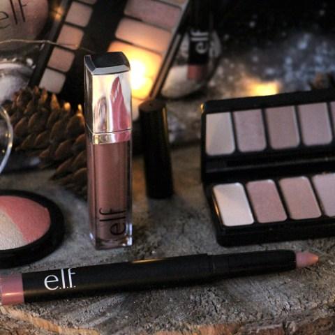 Un maquillage rose gold avec ELF