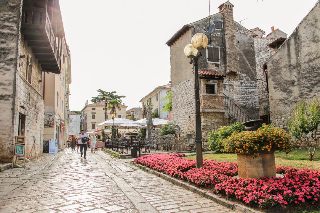 Rue historique Porec