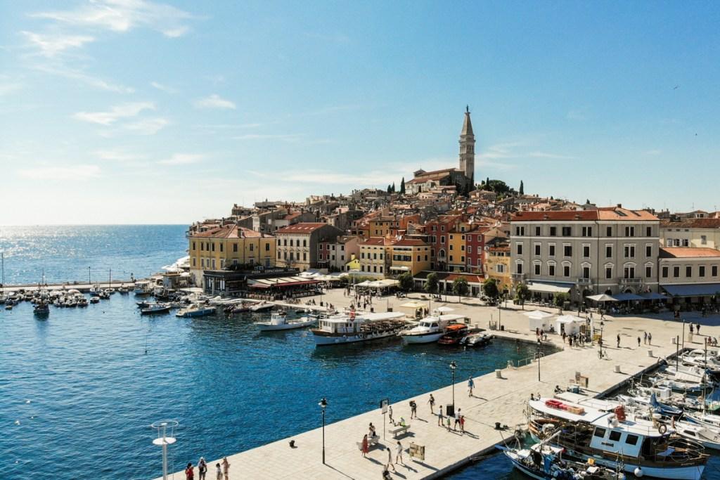Port Rovinj Croatie