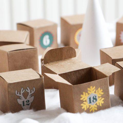 Idées de petits cadeaux à mettre dans un calendrier de l'Avent