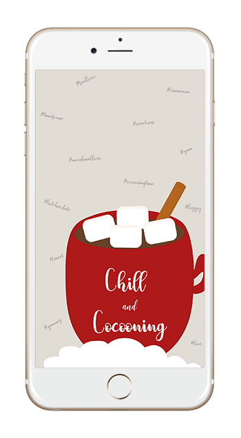 chill and cocooning smartphone