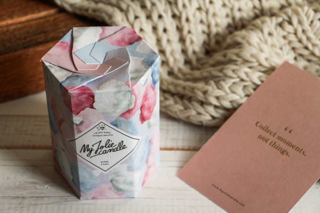 my jolie candle packaging