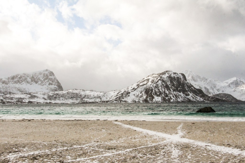 Haukland plage Norvege