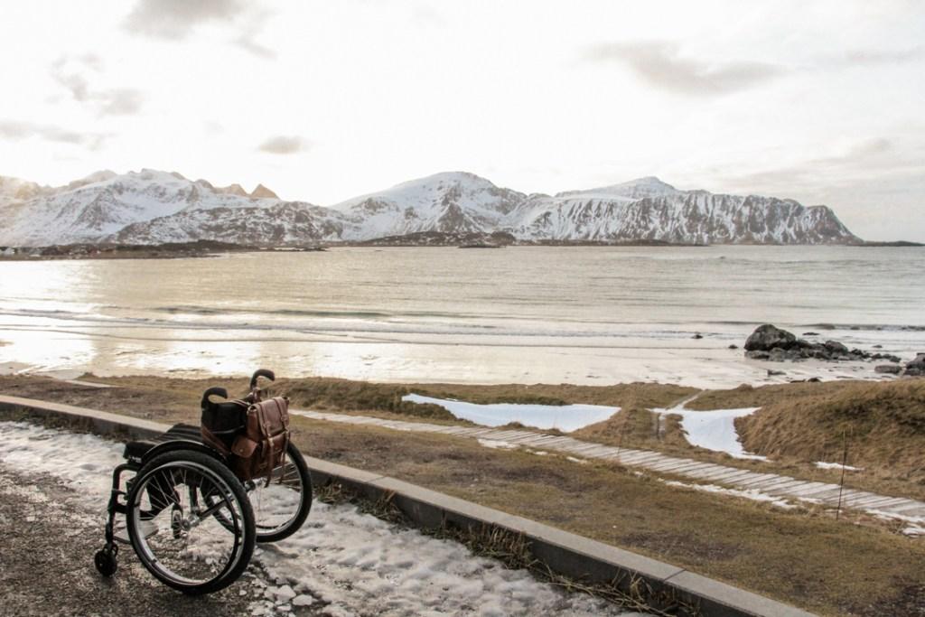 Roadtrip handicap Norvege