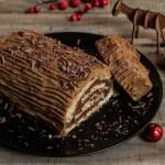 buche de Noël maison café praliné