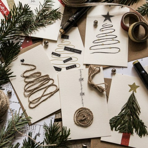 Créer ses cartes de vœux pour les fêtes de fin d'année