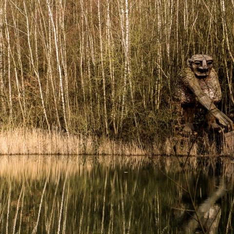 Belgique : une forêt magique pleine de trolls