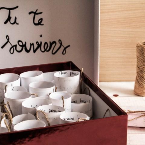 DIY : une boîte à souvenirs pour la Saint-Valentin