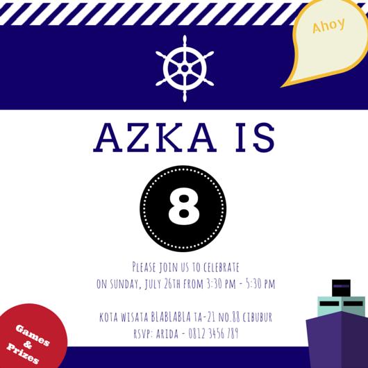 Azka Invitation