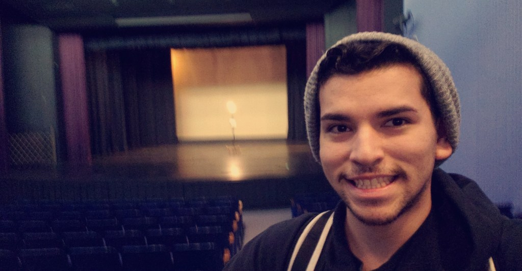 Nicolas Sanchez completed his AS Degree in Theatre Arts at SJCC in Spring 2020.  He participated in the Work-Study program as a Stage Manager and transferred to SJSU to study a BA in Theatre Arts.