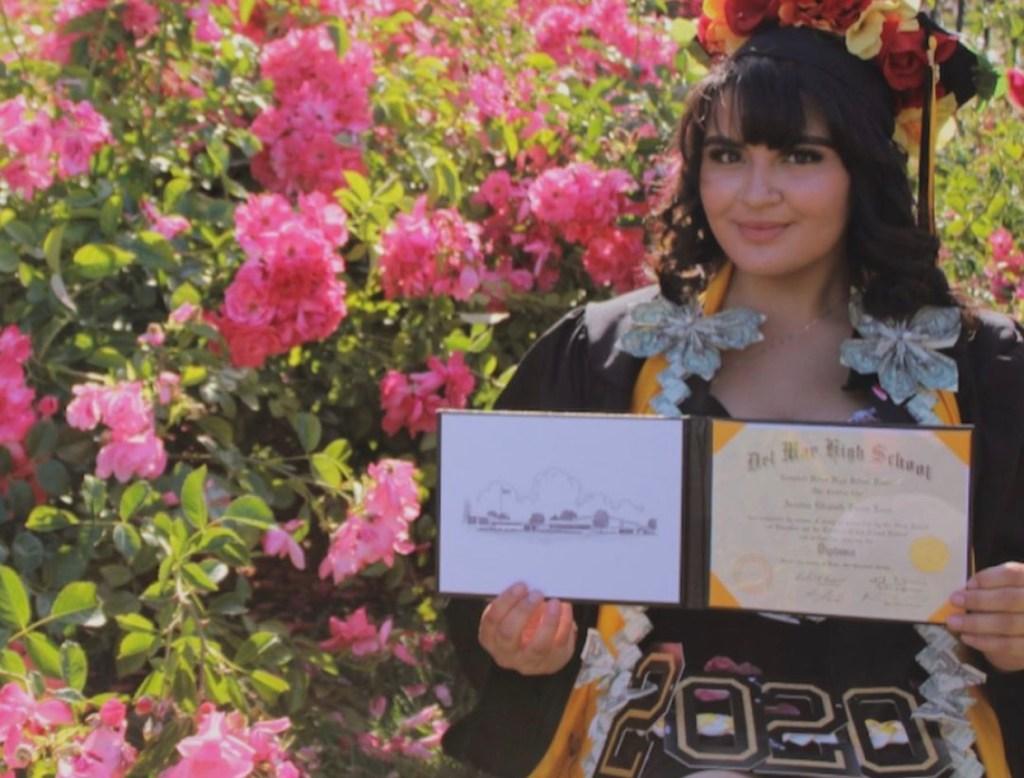 Ariattne Zarate, honors student at SJCC.