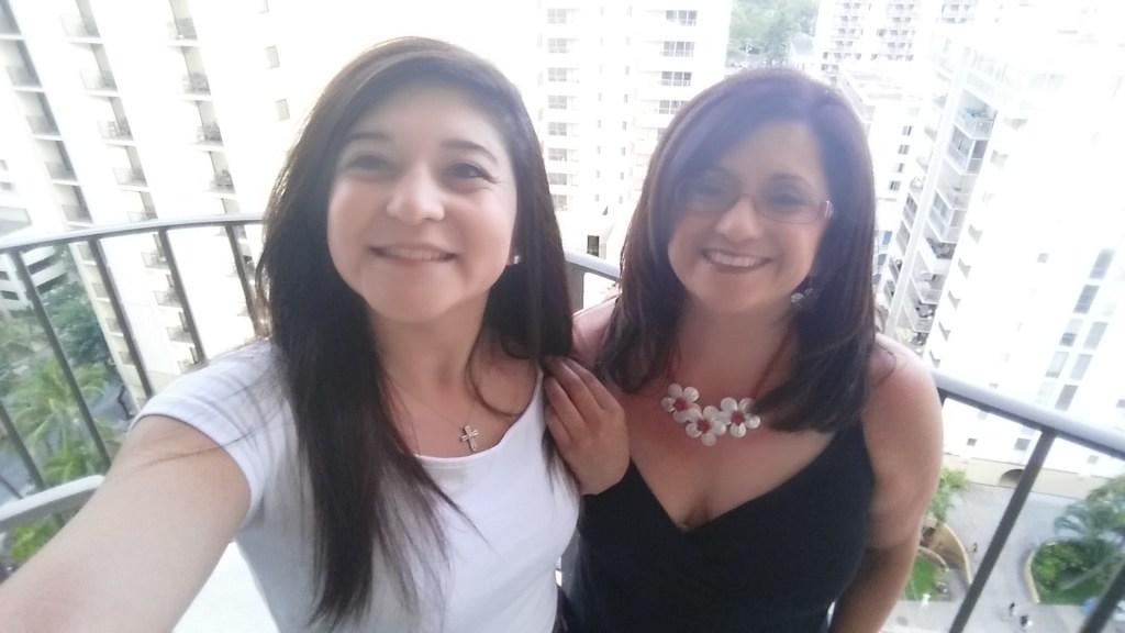 Vanessa and Teresa Paiz