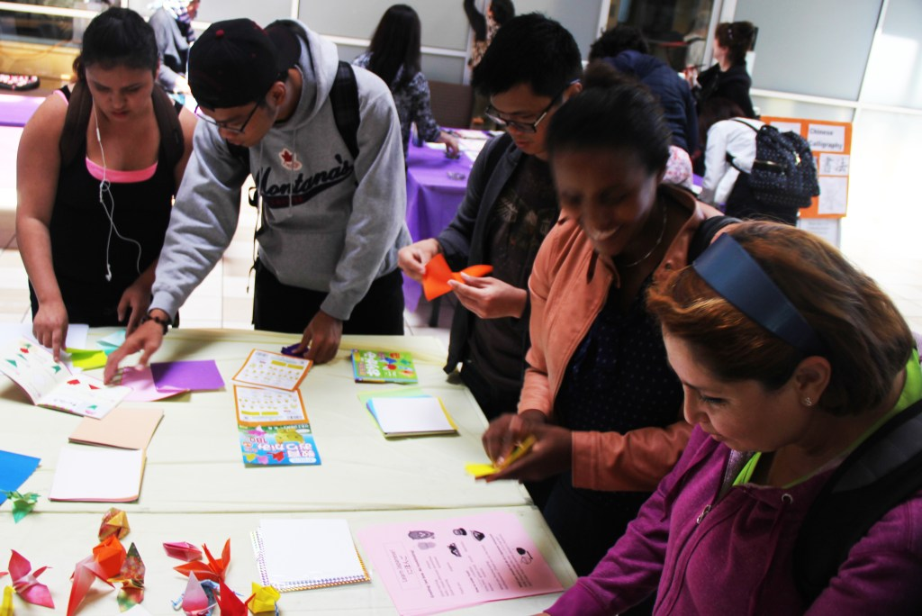 ESL students participate in Asian Pacific Heritage Month at San José City College.