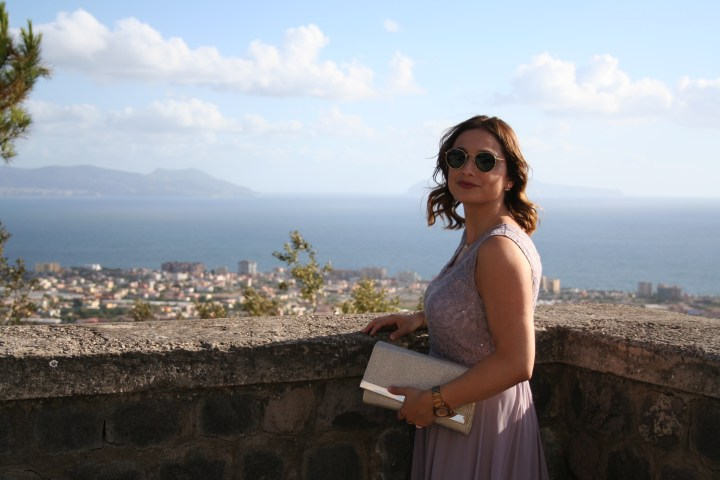 Clarissa C. Wedding Italy Ocean Naples