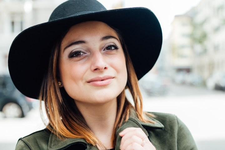 Clarissa C. Fashionblogger smiling