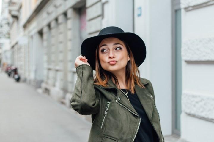 Fun picture of Clarissa C. fashionblogger
