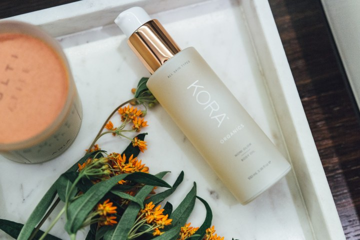 Noni Glow Body Oil by Kora Organics Winter beauty essentials blogpost
