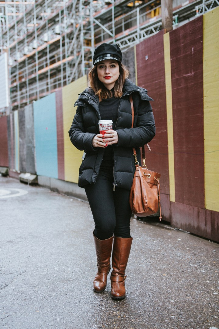 Winter street style the Rosegold Diary