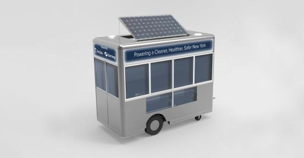 The MRV offers a 21th century update for the food carts in NYC (photo: MOVE Systems)