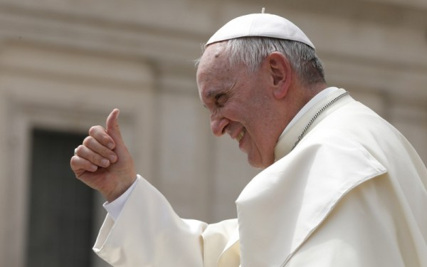 Pope Francis urges the world to change unbridled consumerism into a sustainable way of life for everyone (photo: CNS)