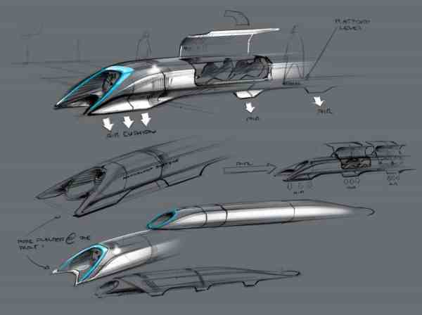 Elon Musk's original Hyperloop Alpha proposal in 2013