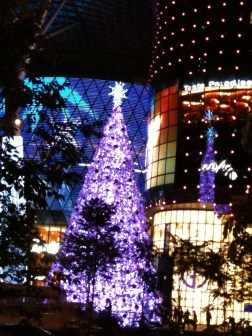 Christmas tree at Ion Orchard, Singapore