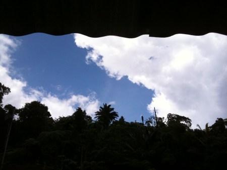 blue sky, maxwell hill, bukit larut