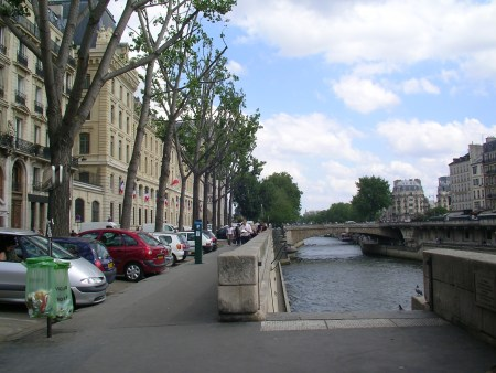 river seine, paris, france
