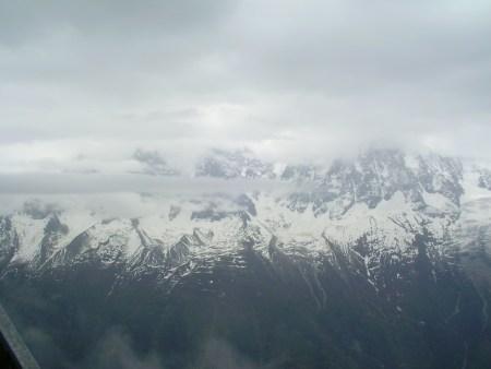 french alps, chamonix, snow