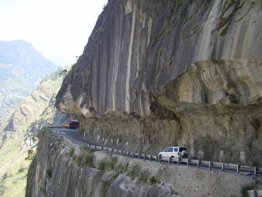 road to Kalpa, shimla to kalpa drive, himalayas road, road to spiti, reckong peo to kaza
