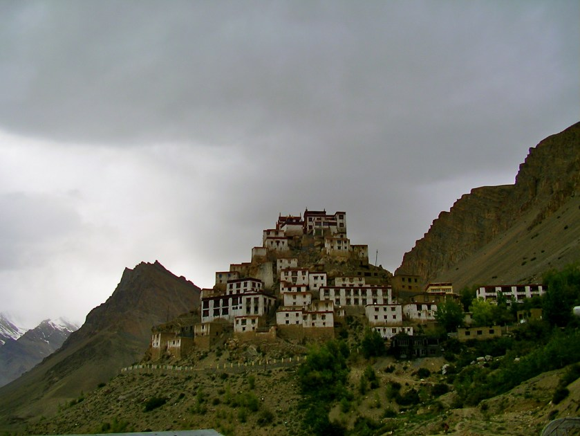 key monastery, kee village
