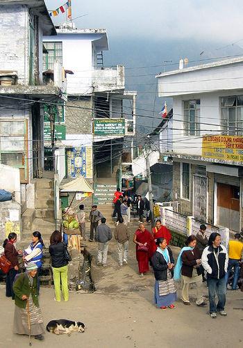 Mcleodganj, dharamsala, street scene