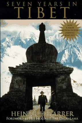 Seven years in Tibet, Heinrich Harrer, best travel books