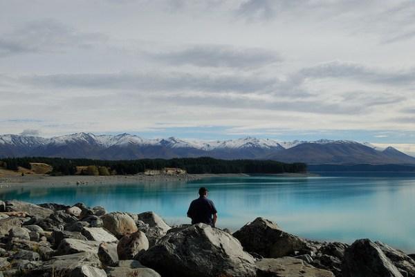 Lake Pukaki, New Zealand photo gallery