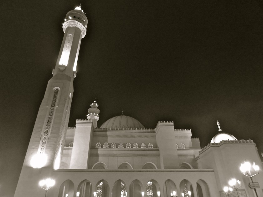 Grand mosque Bahrain, al fateh Bahrain, Bahrain attractions