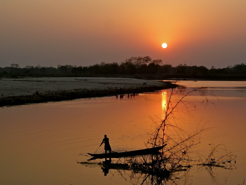 Majuli sunset, Assam best place to visit, best places to visit northeast India