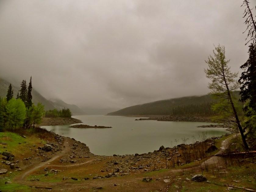 Jasper lakes, Jasper view