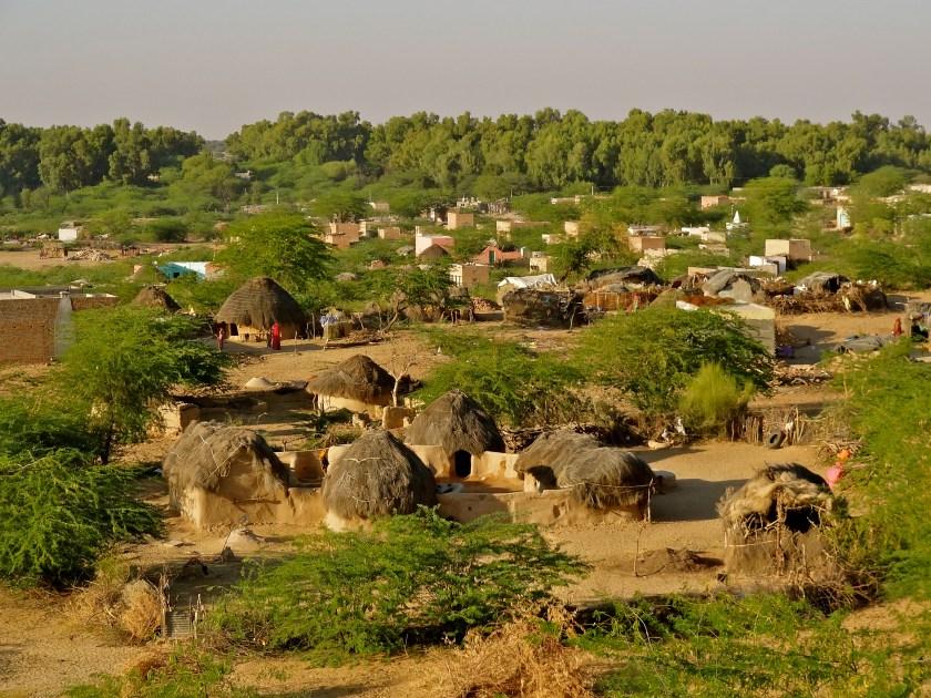 Rajasthan village, Rajasthan desert, houses in Rajasthan village, photos of Indian villages