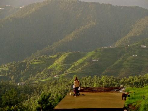 Kumaon village, Kumaon hills, Kumaon himalayas, hill stations near Delhi, Dhanachuli