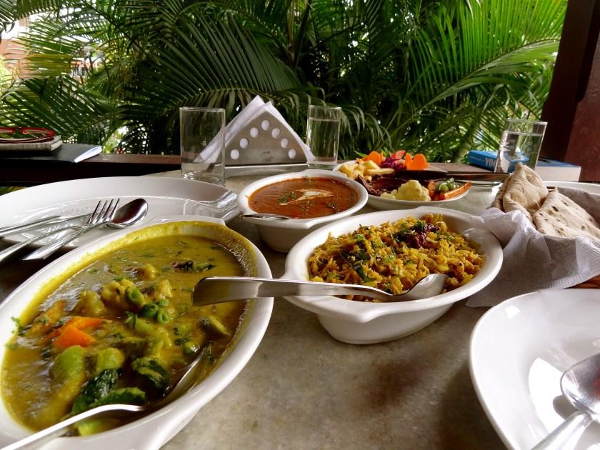 verandah restaurant panjim, best goan restaurants, goan cuisine, goan vegetarian food