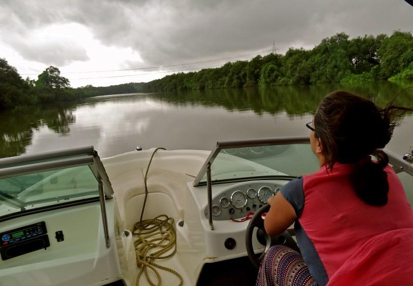 Goa in the monsoon, Goa backwaters, Goa best time to visit, Goa speed boat, Goa Aldona