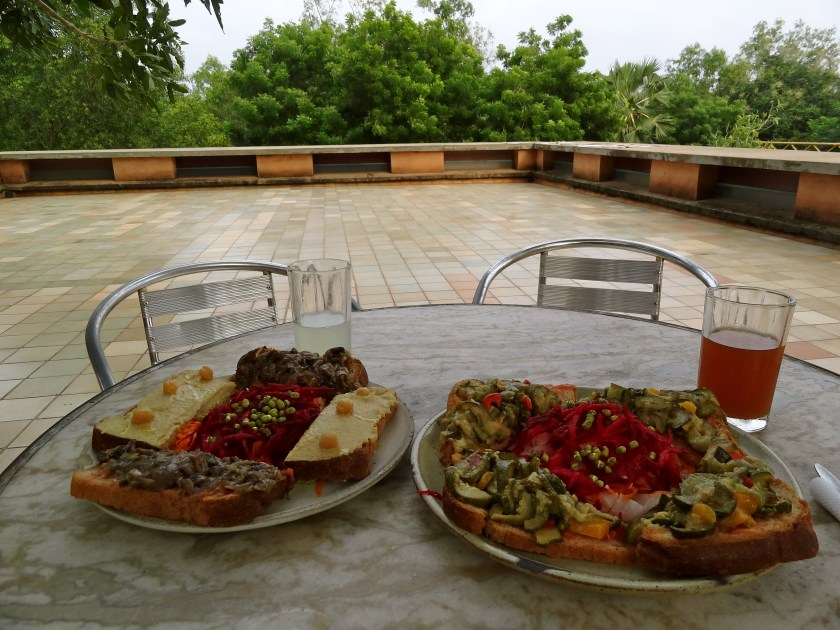Le Terraza Auroville, Auroville food, Auroville restaurants, Auroville food, organic food auroville