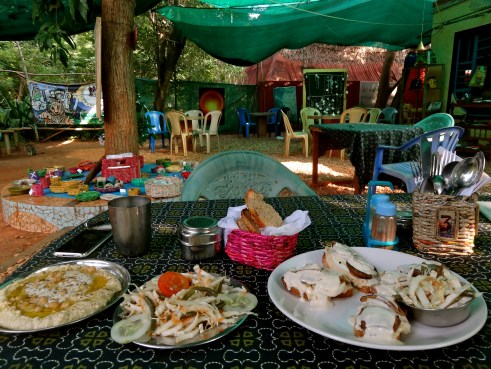 Well Cafe Auroville, Auroville food, Auroville cafes