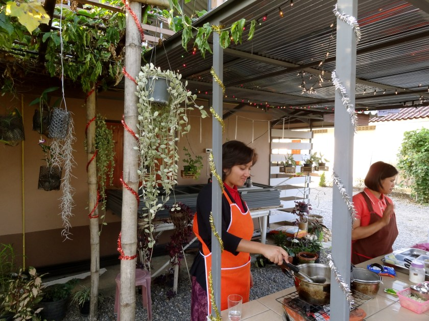 Ban lom jen homestay, Thai cooking, Thai food, Thailand blog